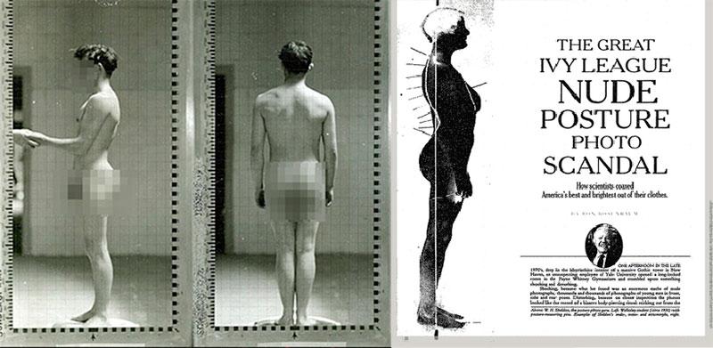Ivy League nude posture photo scandal