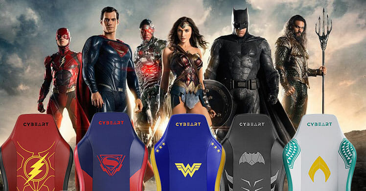 Snyder Cut Justice League gaming chairs