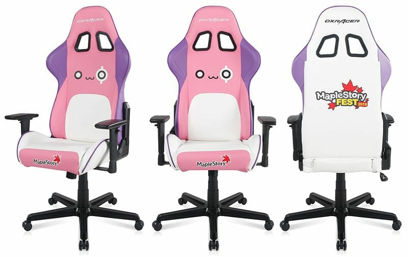 DXRacer Maple Story gaming chairs