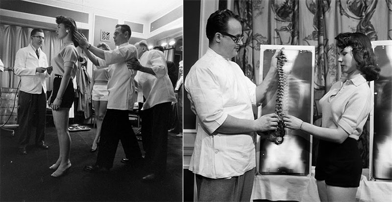 Perfect posture competition in America