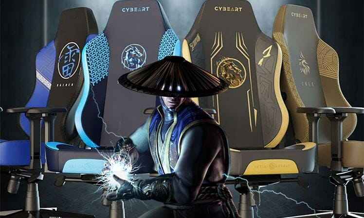 Mortal Kombat video game chairs
