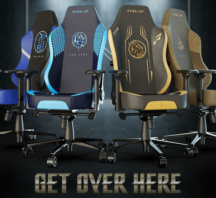 Mortal Kombat gaming chairs