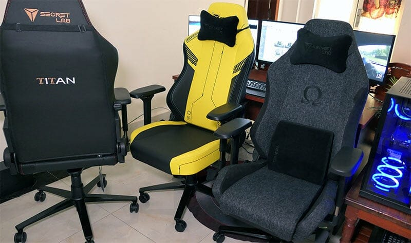 Buying more than one Secretlab chair, just for fun