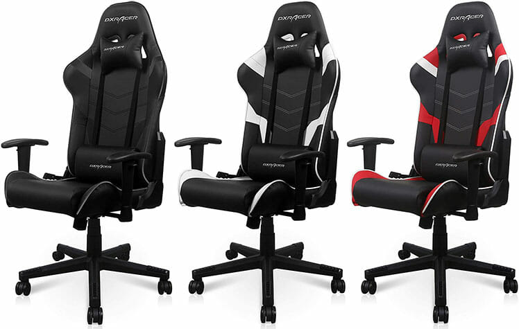 DXRacer P-Series gaming chairs