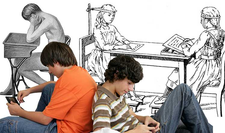 Poor posture in the education system