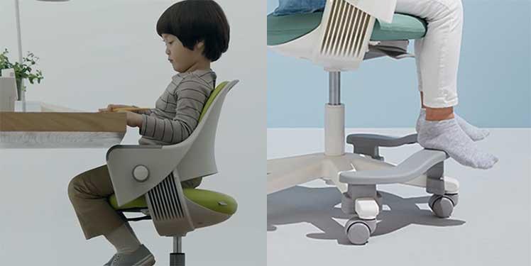 Sidiz Ringo ergonomic chair for kids