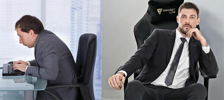 Cheap office chair vs Secretlab Titan