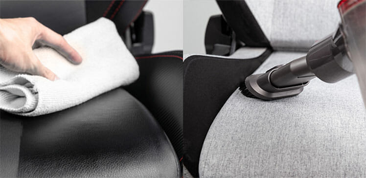 How to clean a Softweave fabric gaming chair
