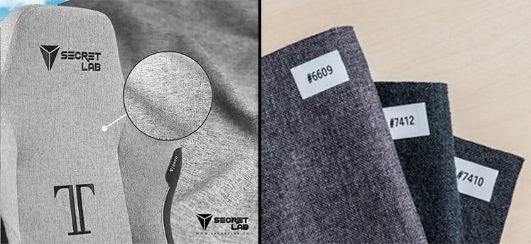 Secretlab fabric color variations