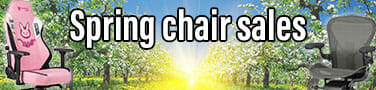 Springtime ergonomic chair sales