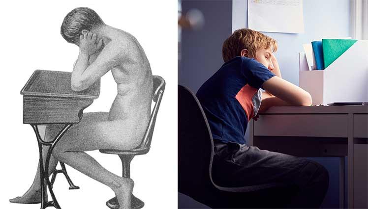 Sitting standards for schoolchildren