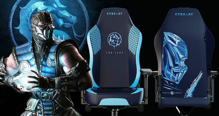 Sub-Zero Mortal Kombat official chair