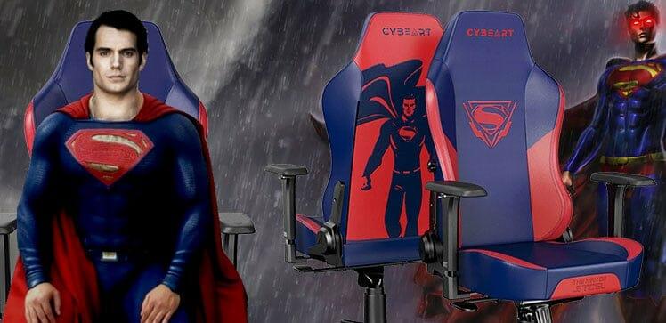 Cybeart Superman gaming chair