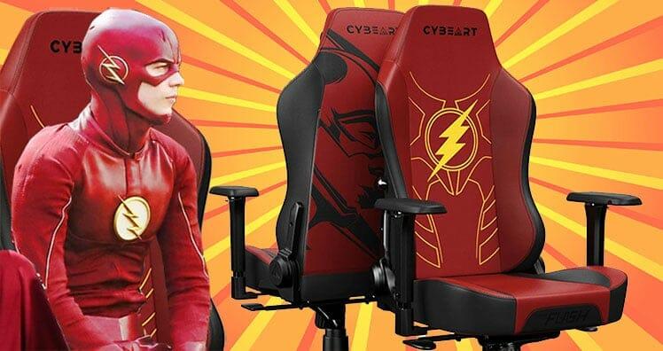 The Flash superhero gaming chair