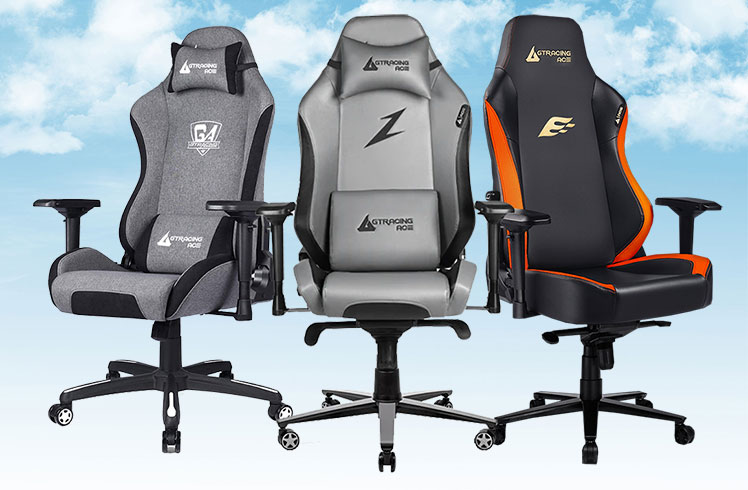 GTRacing Ace collection chairs