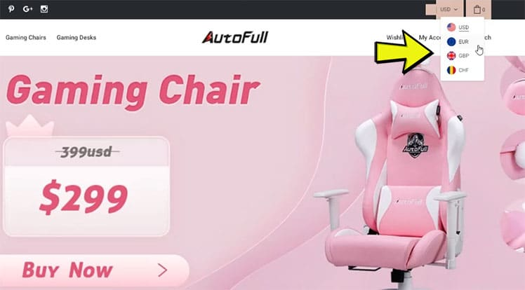 How to buy an Autofull gaming chair