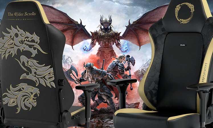 Noblechairs Hero Elder Scrolls gaming chair