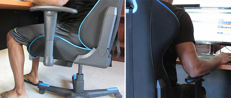 DXRacer chair for work or study from home