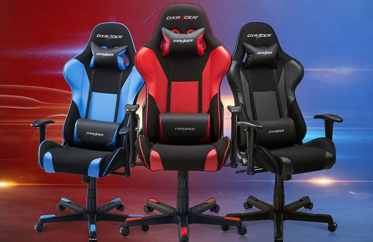 Classic DXRacer Formula Series gaming chairs