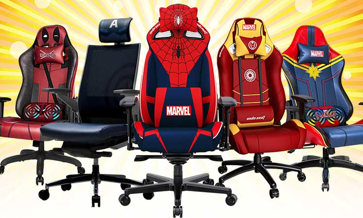 Superheo Marvel gaming chairs 2021