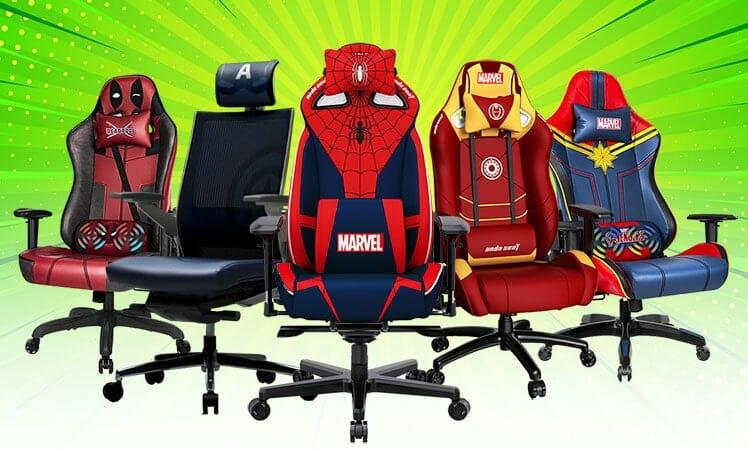 Marvel superhero gaming chair review