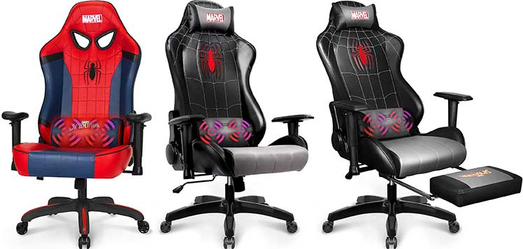 Neochair Spider-Man gaming chairs