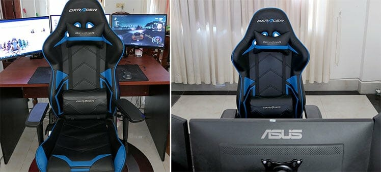 Racing Series designs in a workstation