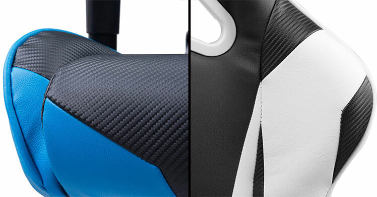 Racing Series RV131 gaming chair upholstery