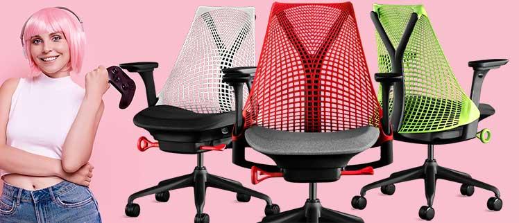 Herman Miller Sayle gaming chair colors