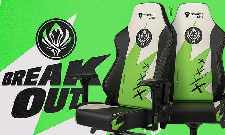 Secretlab Titan MSI 2021 gaming chairs