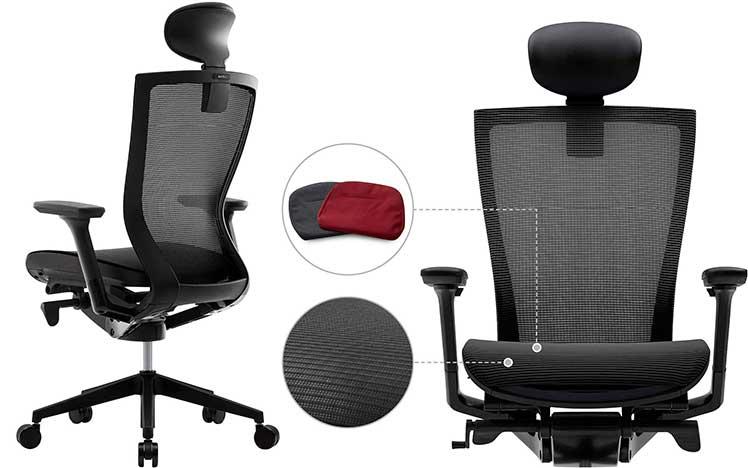 Sidiz T50 Air mesh gaming office chair