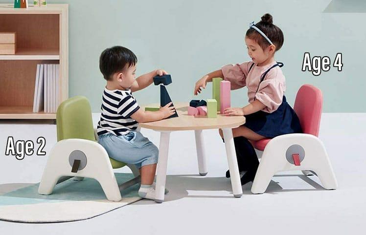 Sidiz Atti height-adjustable chair for kids