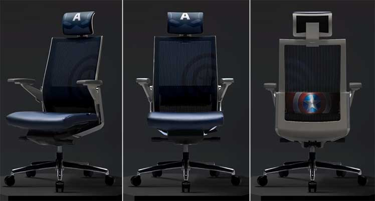 Sidiz T80 Captain America chair