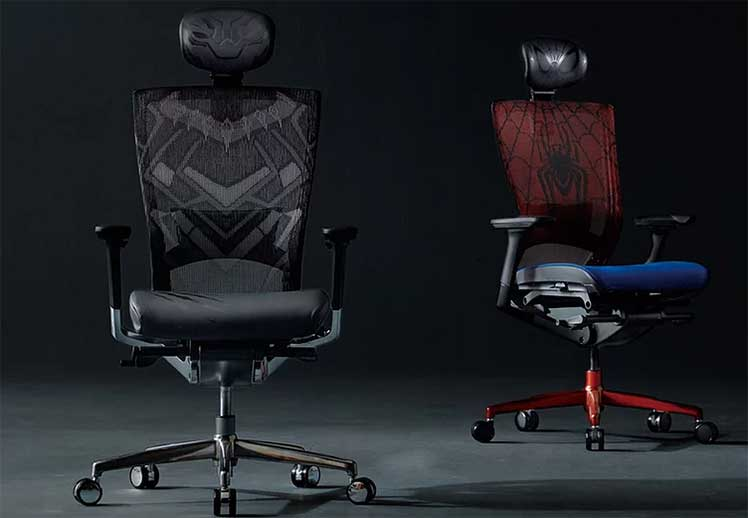 Sidiz T50 superhero gaming chairs