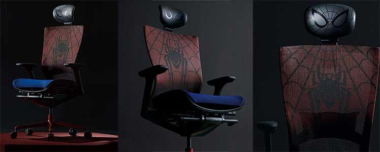 Sidiz T50 Spider-Man gaming chair