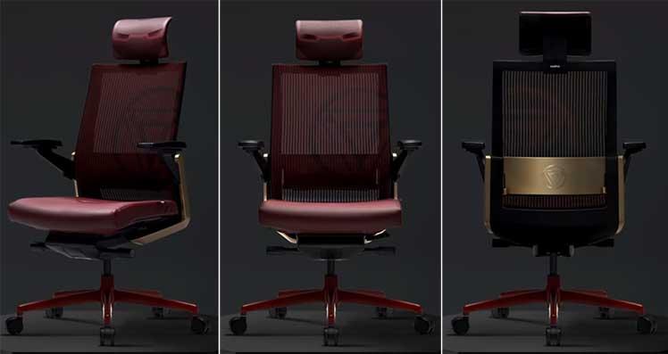 Sidiz T80 Iron Man ergonomic chair