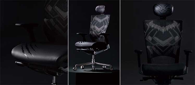 Sidiz T50 Black Panther gaming chair