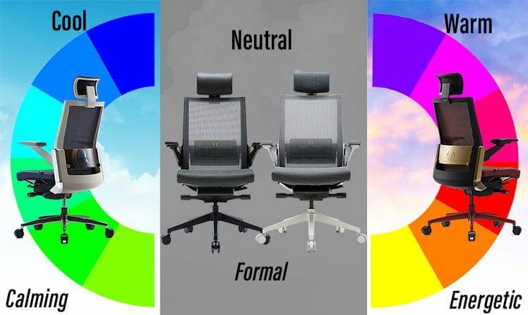 Sidiz T80 chairs different colors