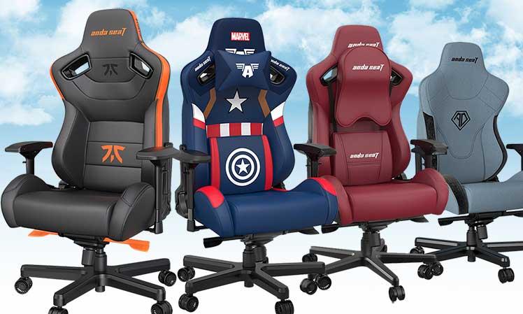 Anda Seat big and tall gaming chair models