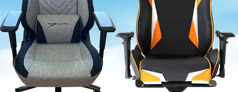 E-Win Champion Series seat styles