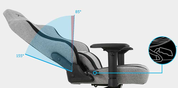 CHampion Series forward-recline functionality