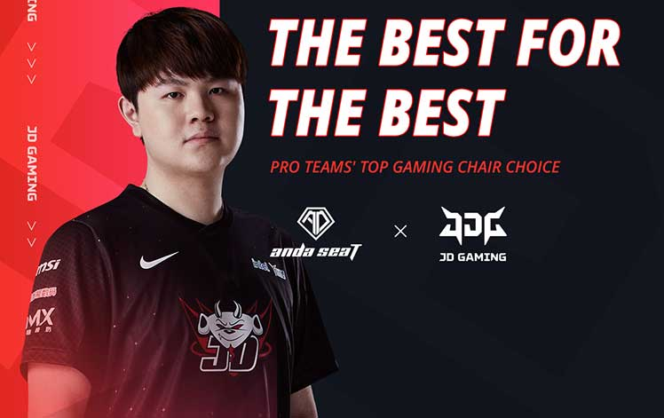 Anda Seat partners with JDG gaming