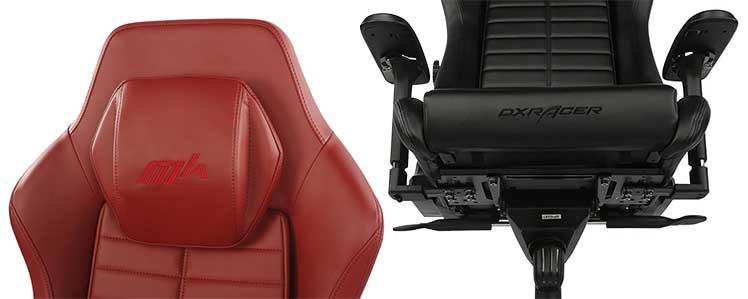 DXRacer Master gaming chair closeup