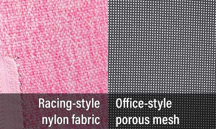 Fabric vs mesh gaming chair upholstery