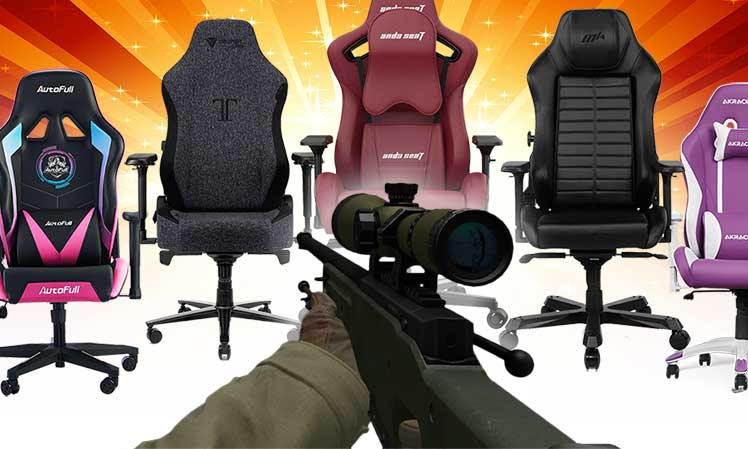 Best types of PC gaming chairs