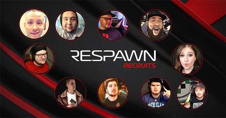 Respawn Recruits campaign