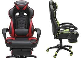 Respawn 110 gaming chair with footrest