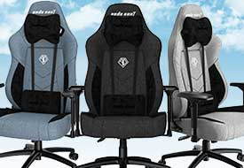 T-Compact Fabric Gaming Chair