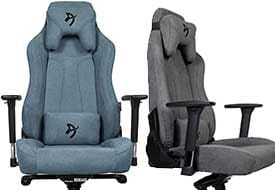 Arozzi Vernazza woven fabric gaming chairs
