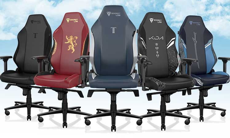 Neo Hybrid Leatherette 2022 Series chairs